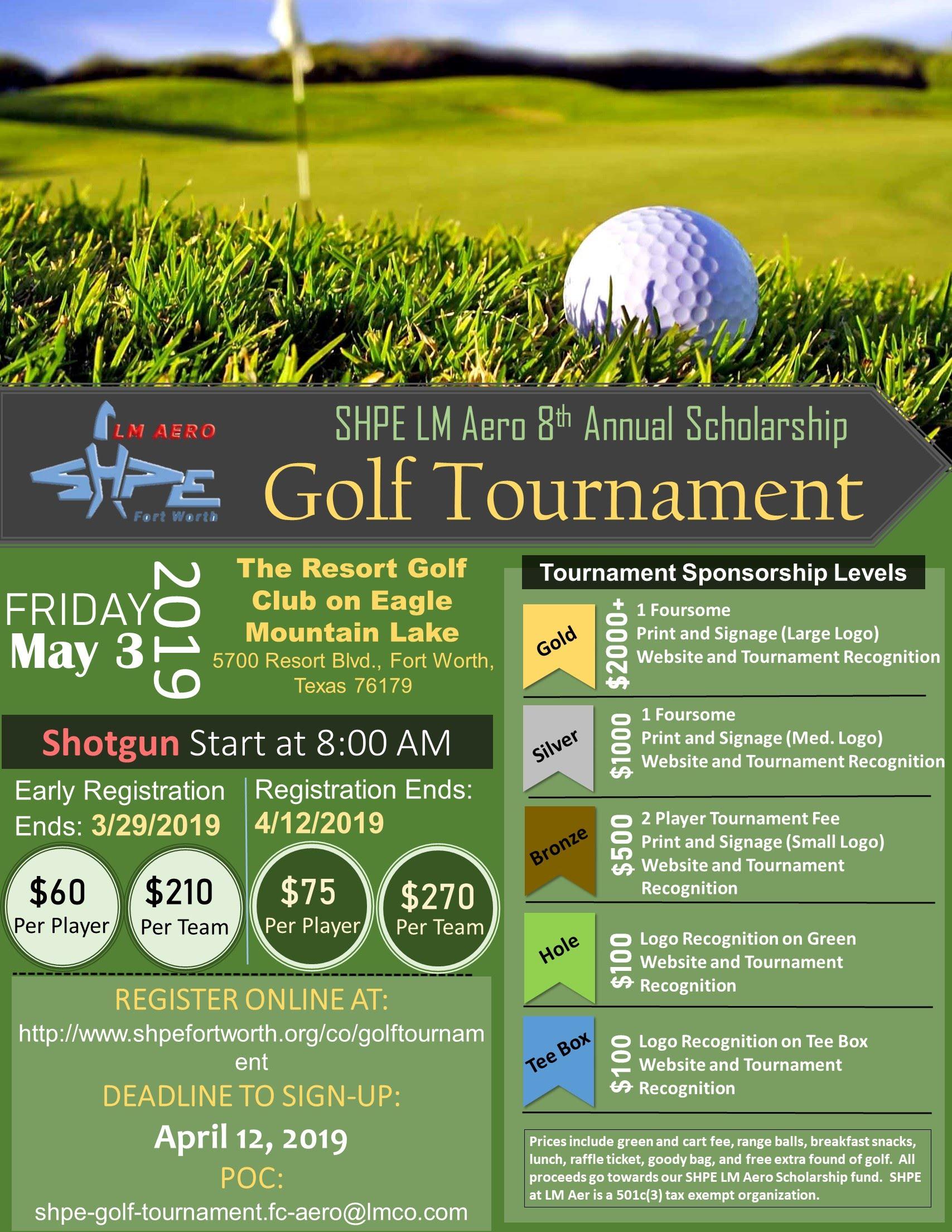 Annual SHPE Golf Tournament